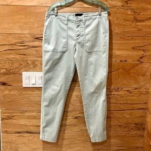 J Crew Skinny Cargo Crop Pants 32